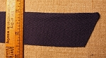 Twill Tape, Navy Blue, 1 3/8