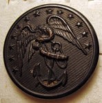 U.S. Marine WWI Button, Original