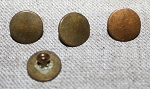 Coin Buttons, SMALL, 3/8