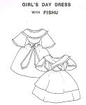 Girls Day Dress with Fischu. Period Impressions #304