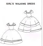 Girls Walking Dress
