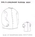 Girls Long/Short Sleeved Body