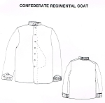 Confederate Regimental Sack Coat