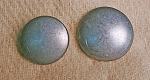 Pewter Dome Button. 3/4
