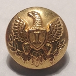 US Army Eagle Button, Officer and Enlisted. 1880-1902