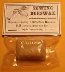 Sewing Beeswax, One Ounce