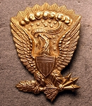 Eagle Hat Pin. 1851-1858. Made in USA