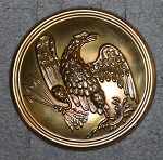 U.S. Army,  Round Eagle Box Plate