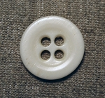 Bone Button. Original , 5/8