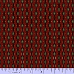 Cotton Fabric. Prairie Basics, Red
