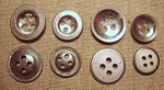 Tin Buttons, New Made