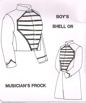 Boy's Shell or Musician's Frock