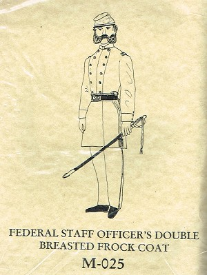 Federal Officer's Double Breasted Frock Coat