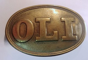 Oglethorpe Light Infantry (OLI) Buckle
