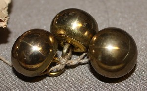 Zouave or Ball button  5/8""
