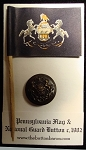Pennsylvania State Seal. 1902 Style, Blackened Bronze