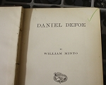 1879 Daniel Defoe by WIlliam Minto