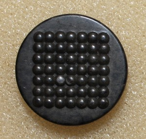 Goodyear's Patent Buttons. Square Design.