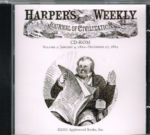Harper's Weekly on CD ROM. 1861 or 1862