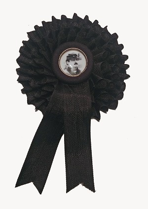 Mourning Cockade for National Regiment Members