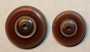 Vegetable Ivory Buttons, Antique Whistle in 2 sizes